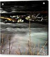 03 Niagara Falls Usa Rapids Series Acrylic Print