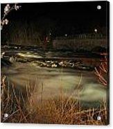 04 Niagara Falls Usa Rapids Series Acrylic Print