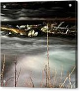 05 Niagara Falls Usa Rapids Series Acrylic Print