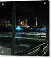 09 Niagara Falls Usa Rapids Series Acrylic Print