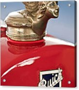 1928 Buick Custom Speedster Hood Ornament Acrylic Print