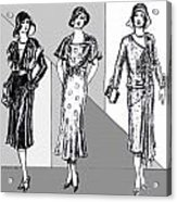 1930s Dresses Acrylic Print
