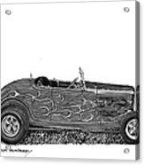1932 Ford Hi Boy Hot Rod Acrylic Print