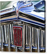 1933 Fiat Balilla Hood Ornament Acrylic Print