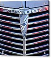 1939 Chevrolet Grille Acrylic Print