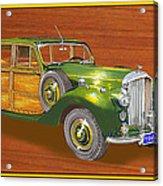 1947 Bentley Shooting Brake Acrylic Print
