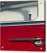 1955 Chevrolet 210 Door Handle Acrylic Print