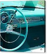 1957 Chevy Convertable Acrylic Print