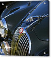 1961 Jaguar Mk II 3.8 Litre Automatic Acrylic Print