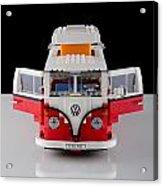 1962 Vw Lego Bus Acrylic Print by Noah Katz