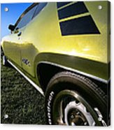1971 Plymouth Gtx Acrylic Print by Gordon Dean II