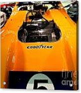 1972 Mclaren M20 Can-am Race Car Acrylic Print by Wingsdomain Art and Photography
