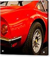 1973 Ferrari Dino 246 Gt Acrylic Print