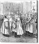 1st Vatican Council, 1869 Acrylic Print