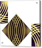 3 Square Acrylic Print