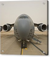 A C-17 Globemaster IIi Sits Acrylic Print