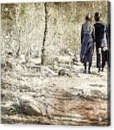 A Couple In The Woods Acrylic Print by Joana Kruse