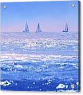A Good Day For Sailing Acrylic Print