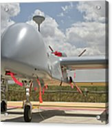 A Heron Tp Unmanned Aerial Vehicle Acrylic Print