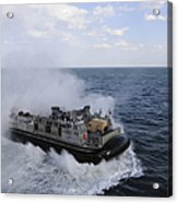 A Landing Craft Utility From Assault Acrylic Print