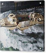 A Lighter Amphibious Re-supply Cargo Acrylic Print