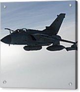 A Luftwaffe Tornado Ids Over Northern Acrylic Print
