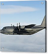 A Mc-130p Combat Shadow In Flight Acrylic Print
