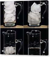 A Pitcher Of Ice Melts Over 4 Hours Acrylic Print