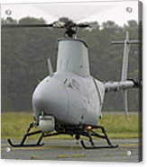 A Rq-8a Fire Scout Unmanned Aerial Acrylic Print