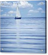 A Sailboat Acrylic Print