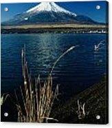 A Scenic View Of Mount Fuji Taken Acrylic Print