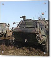 A Tpz Fuchs Armored Personnel Carrier Acrylic Print