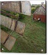 A Turn-of-the-century Peg Barn As Seen Acrylic Print