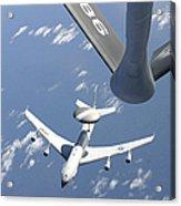 A U.s. Air Force E-3 Sentry Airborne Acrylic Print