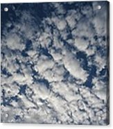 A View Of A Cloud-filled Sky Over Miami Acrylic Print