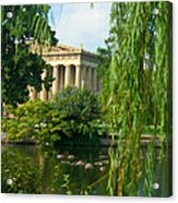 A View Of The Parthenon 17 Acrylic Print