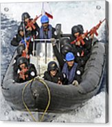 A Visit, Board, Search And Seizure Team Acrylic Print