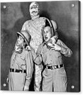 Abbott And Costello Acrylic Print by Granger