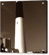 Absecon Lighthouse Acrylic Print
