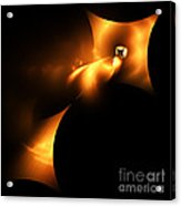 Abstract Fifty Acrylic Print