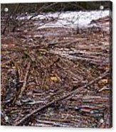 Abstract Flood Acrylic Print