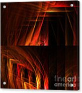 Abstract Forty-seven Acrylic Print