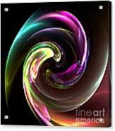 Abstract Seventy-three Acrylic Print