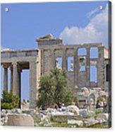 Acropolis Acrylic Print