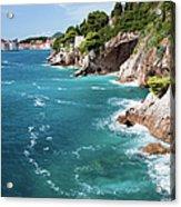 Adriatic Sea Coastline Acrylic Print