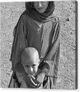 Afghan Girls Acrylic Print