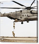 Air Force Pararescuemen Conduct Acrylic Print
