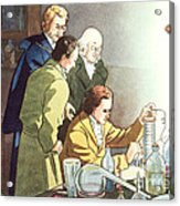 Alessandro Volta, Italian Physicist Acrylic Print by Science Source