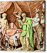Alexander The Great And His Physician Acrylic Print