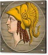 Alexander The Great, Greek King Acrylic Print